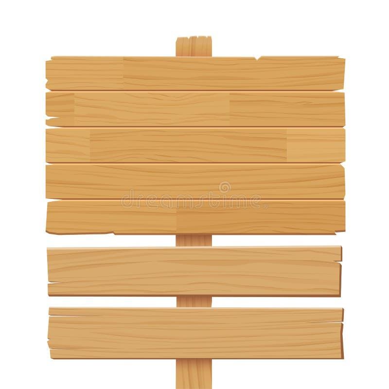 在空白背景查出的木符号 皇族释放例证