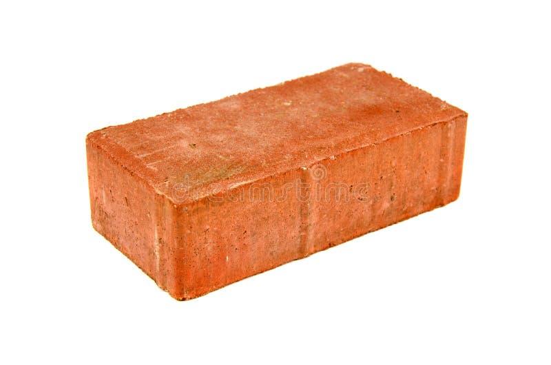 在空白背景查出的红砖 库存图片