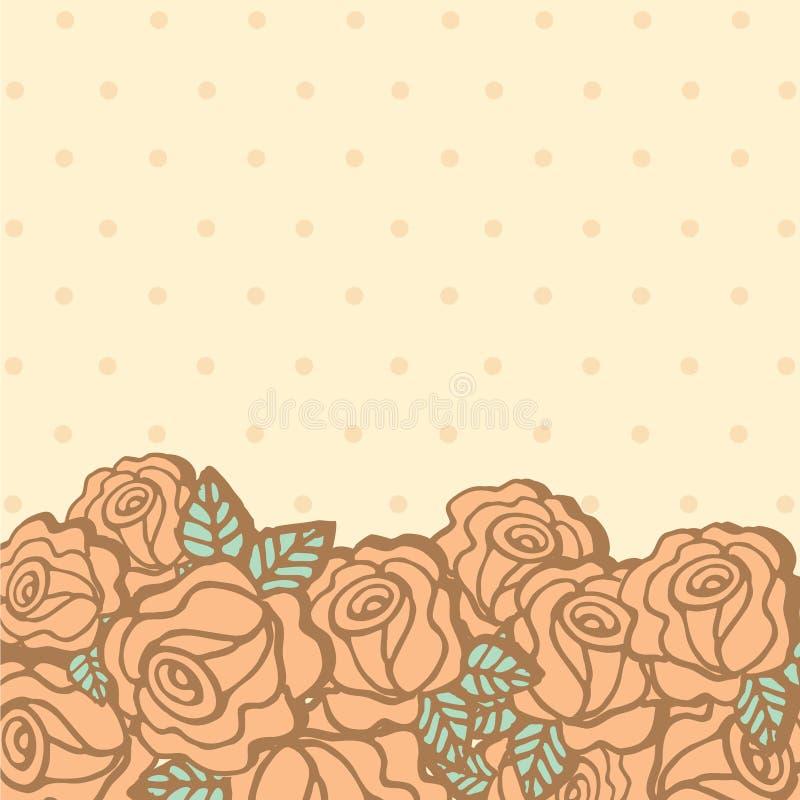 Download 在空的空间的罗斯花 向量例证. 插画 包括有 本质, 逗人喜爱, 上升了, 淡色, 花卉, 季节, 设计 - 30330618