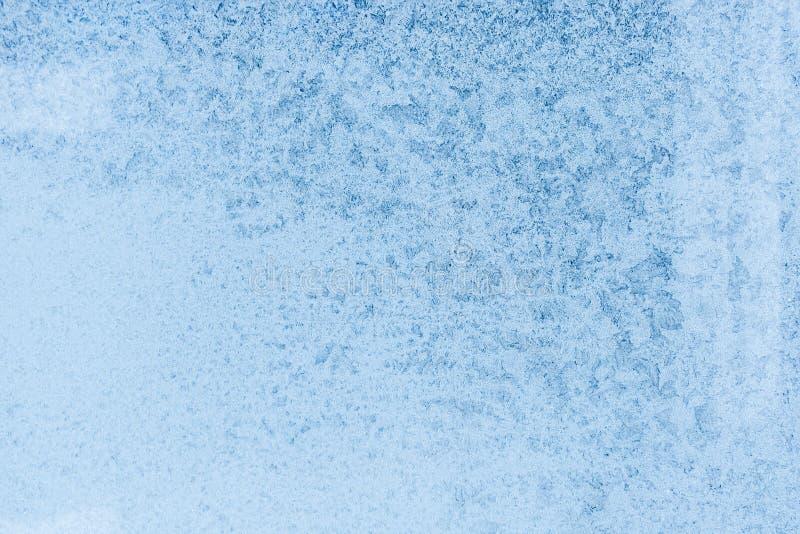 在窗口的样式 冻玻璃背景  冷淡的窗口纹理 免版税库存照片