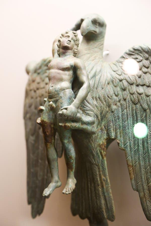 在第比利斯博物馆的天使雕象 库存照片