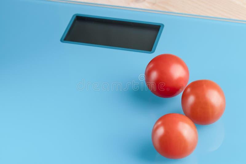 在等级的西红柿 免版税图库摄影