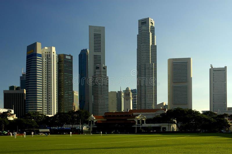 在系列新加坡附近 免版税库存照片