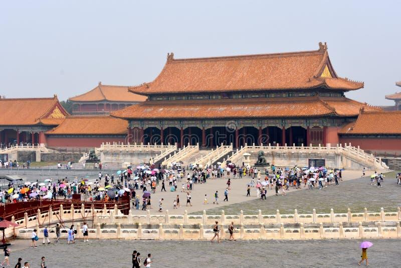 在紫禁城的好日子,北京,中国 图库摄影