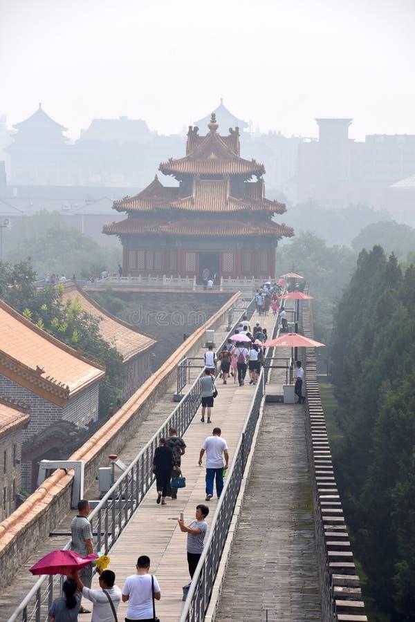 在紫禁城的好日子,北京,中国 免版税库存图片