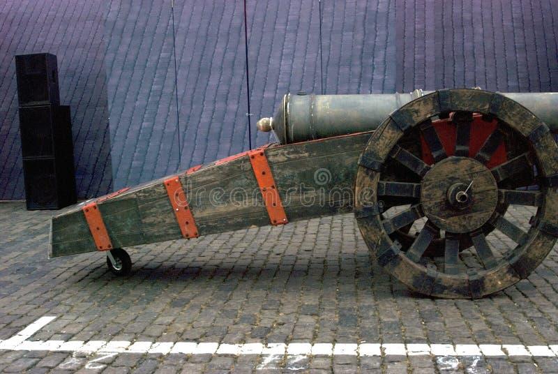 在红场显示的第二次世界大战的军用设备在莫斯科 库存图片