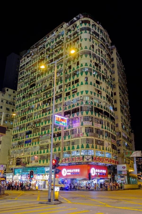 在约旦商业distric的一个美妙地被设计的大厦 库存图片