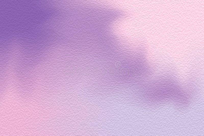 梯度颜色刷子的抽象派紫色五颜六色的明亮的画笔混合了,淡色软的油漆图片