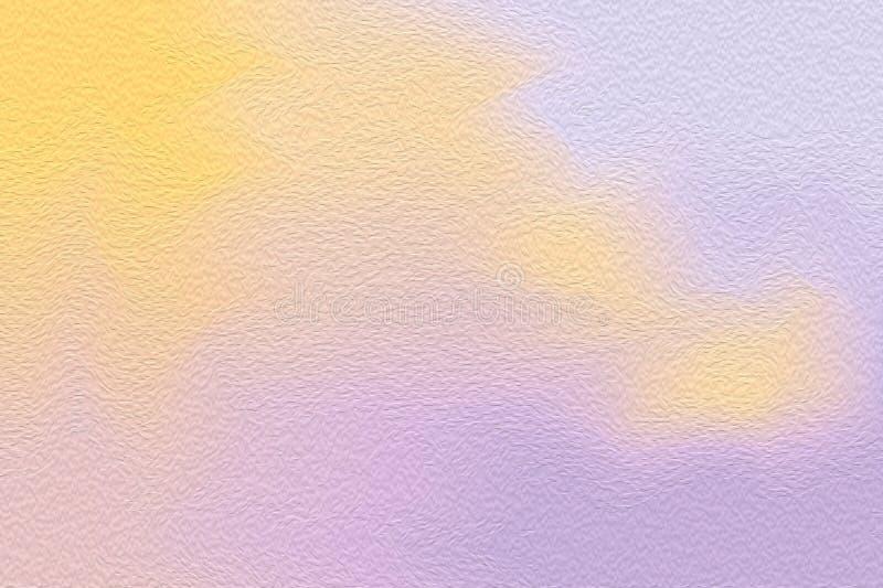 在纸纹理背景,多五颜六色的绘画艺术丙烯酸酯的水彩的抽象派紫色五颜六色的明亮的画笔 库存图片