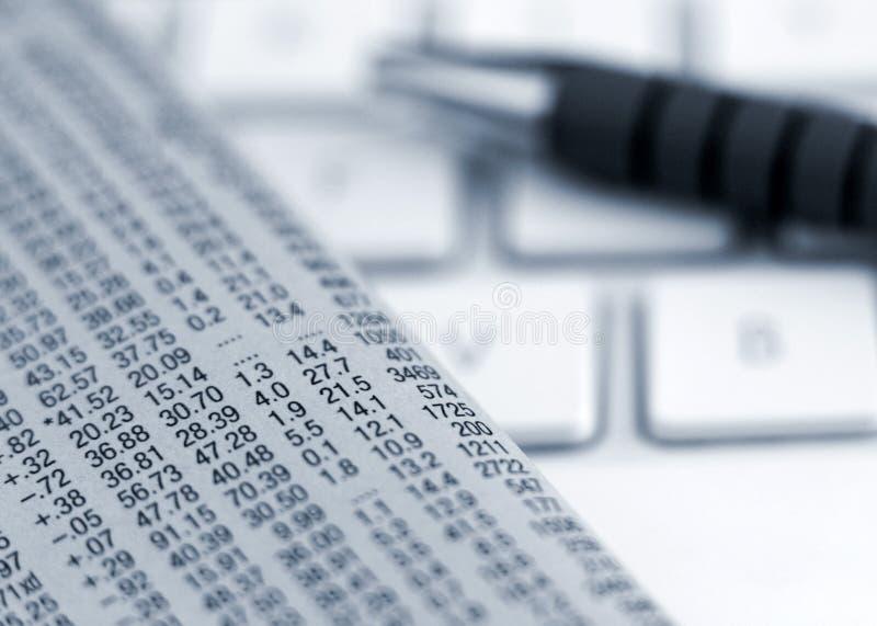 在线投资 免版税库存图片