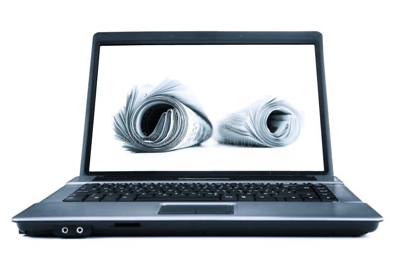 Download 在线新闻 库存照片. 图片 包括有 纸张, 新闻, 了解, 查出, 文件, 通信, 概念, 标题, 计算机 - 15692782
