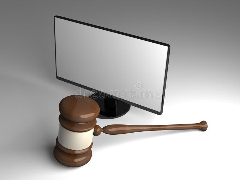 在线法律 皇族释放例证