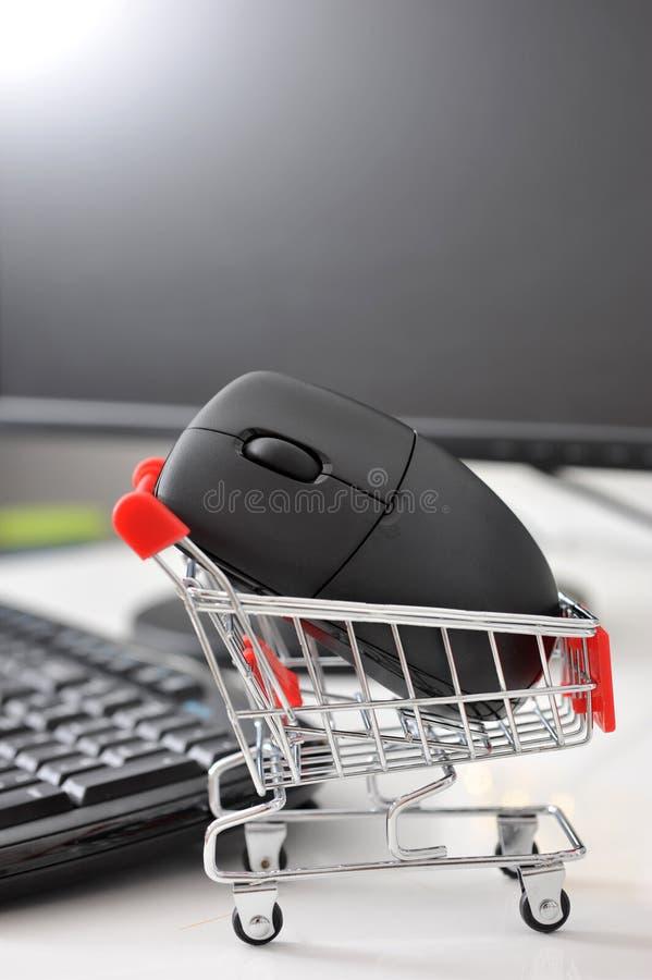 在线购物 免版税库存照片