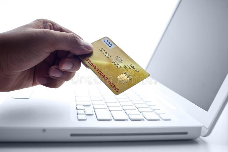 在线购物 免版税库存图片