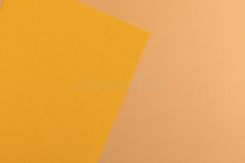 在织品的样式和黄色 库存图片