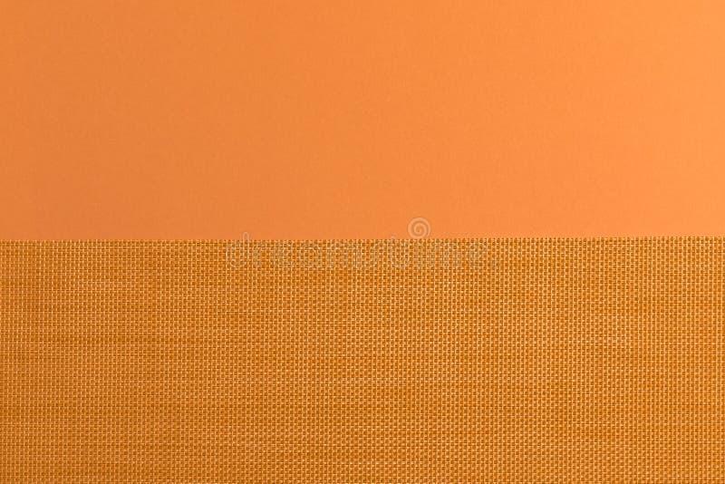 在织品的样式和黄色 免版税库存照片