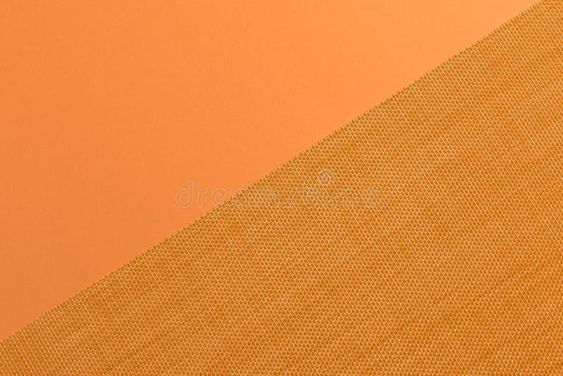 在织品的样式和黄色 免版税库存图片