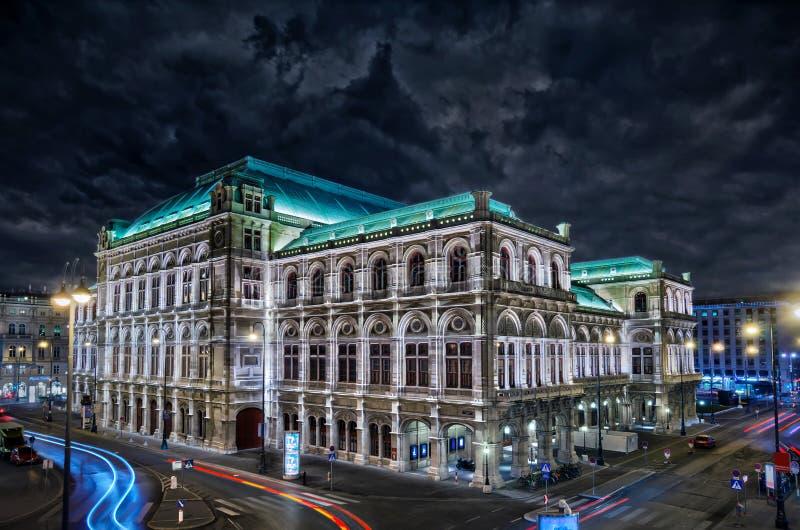 在维也纳的风暴 库存照片