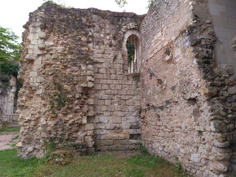 在绿叶的墙壁XI世纪 库存照片