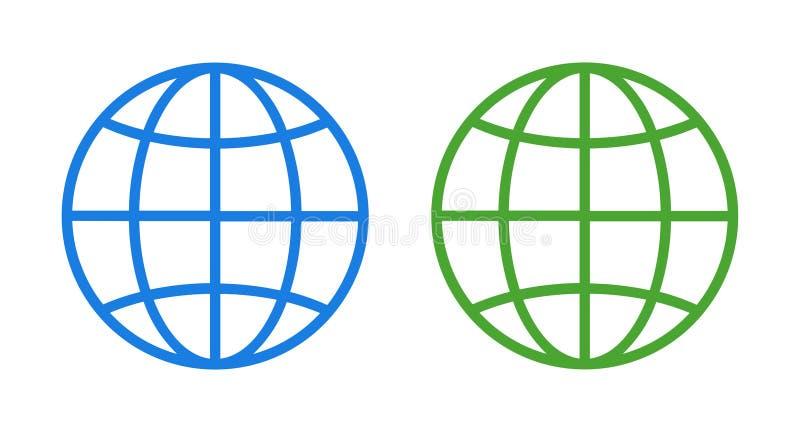 地球象 向量例证