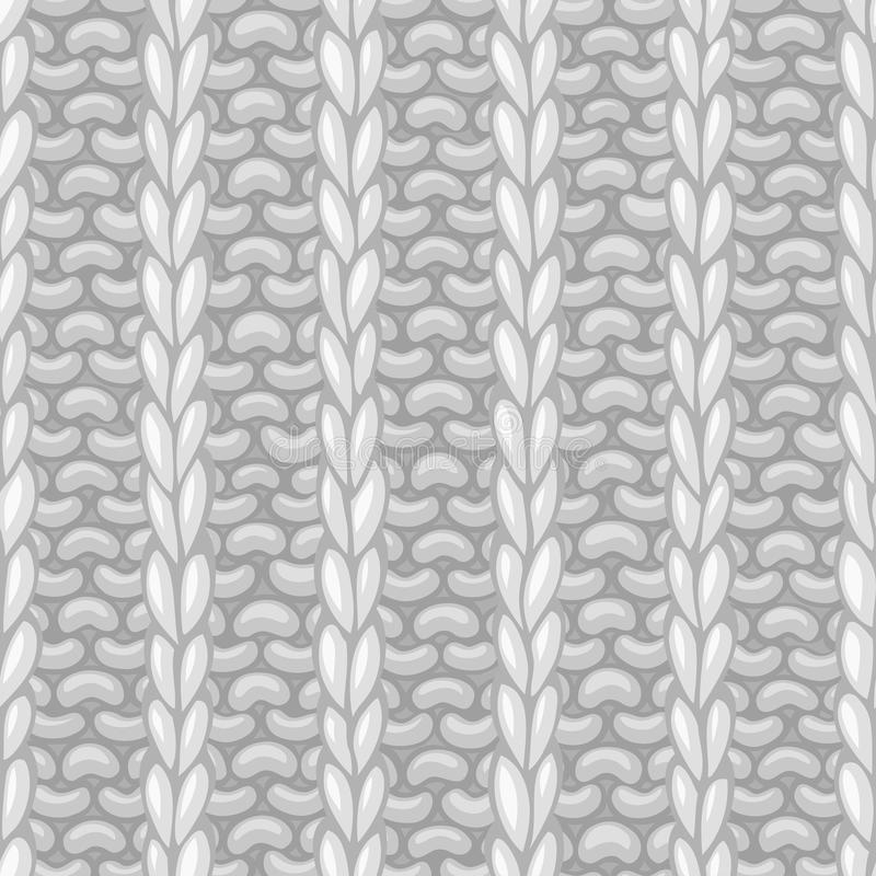 在编织的样式的传染媒介无缝的样式 皇族释放例证