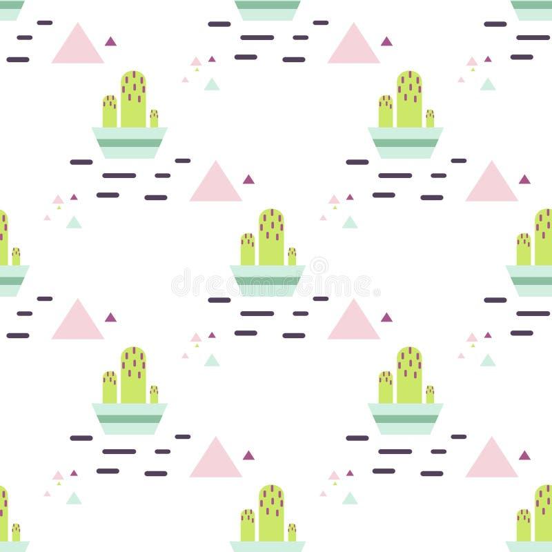 Download 在罐沙漠无缝的样式的绿色仙人掌 向量例证. 插画 包括有 本质, 现代, 子项, 绿色, 沙漠, 背包, 方式 - 72368984