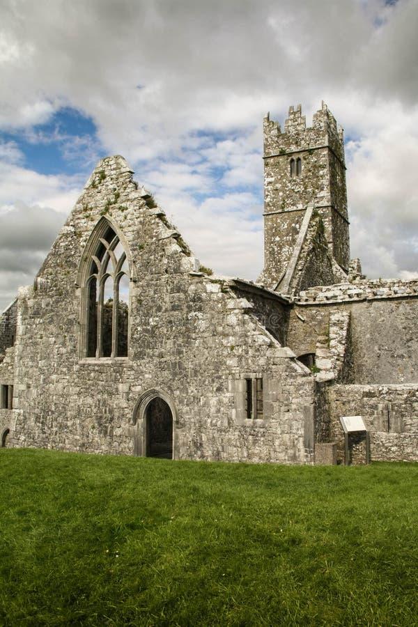 在罗斯附近的城堡co爱尔兰凯利killarney 爱尔兰凯利 免版税库存照片