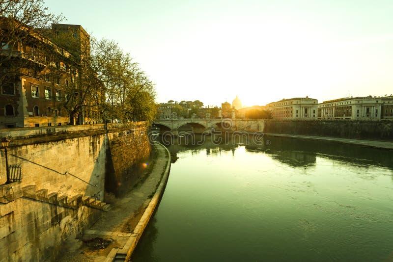 在罗马视图 免版税库存照片