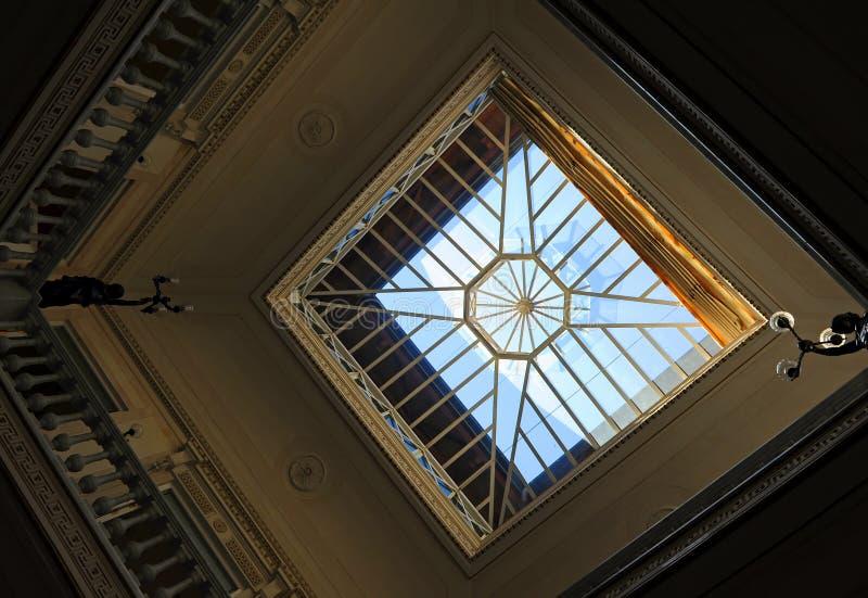在美人鱼里面议院, Casa de las Sirenas,阿拉米达de赫拉克勒斯,塞维利亚,西班牙 库存照片