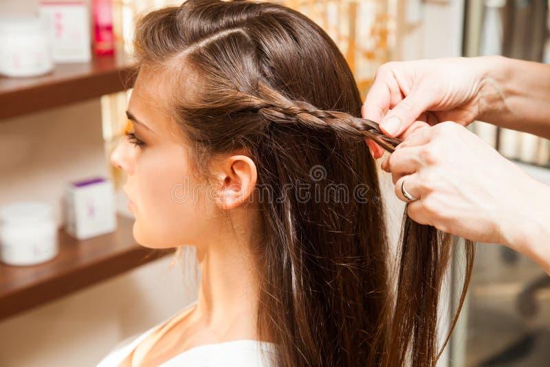 在美发师 库存照片