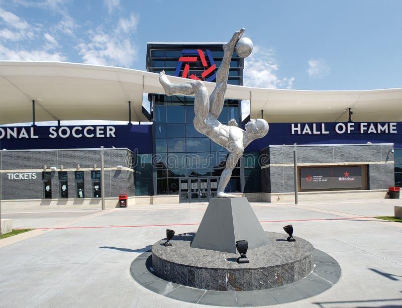 在美国旧金山市建设丰田足球中心 图库摄影