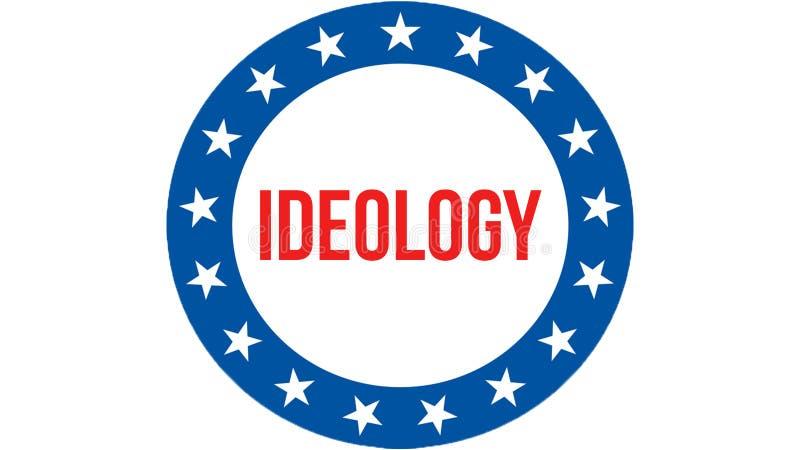 在美国背景的思想体系竞选,3D翻译 美国沙文主义情绪在风 投票,自由民主, 皇族释放例证