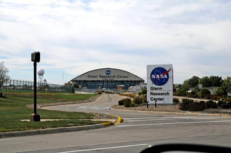在美国航空航天局的葛伦Reseach中心 免版税库存图片