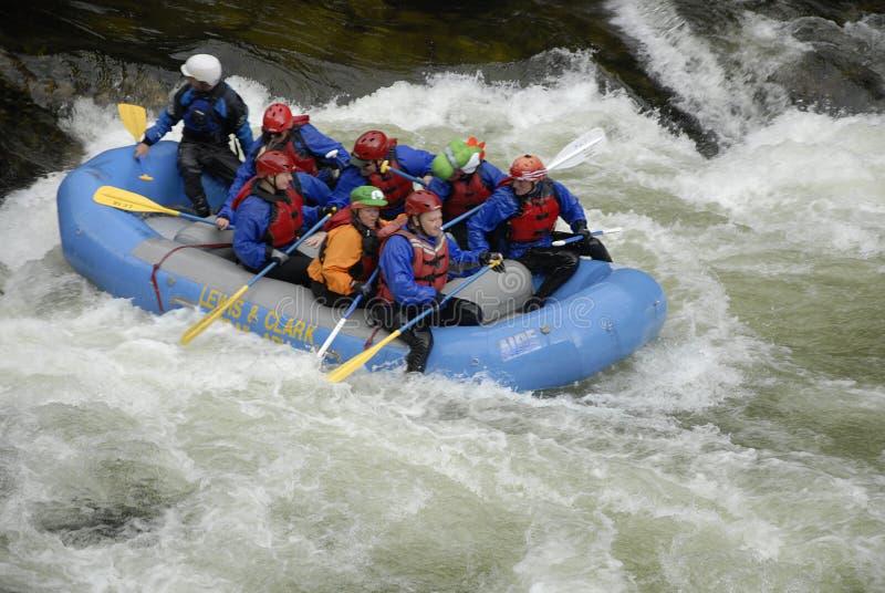 在美国HIGHAY 12 CELAR水河和LOCHSA河的生活 免版税图库摄影