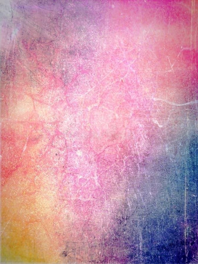 在老纸的水彩油漆 欢乐抽象的背景 库存图片