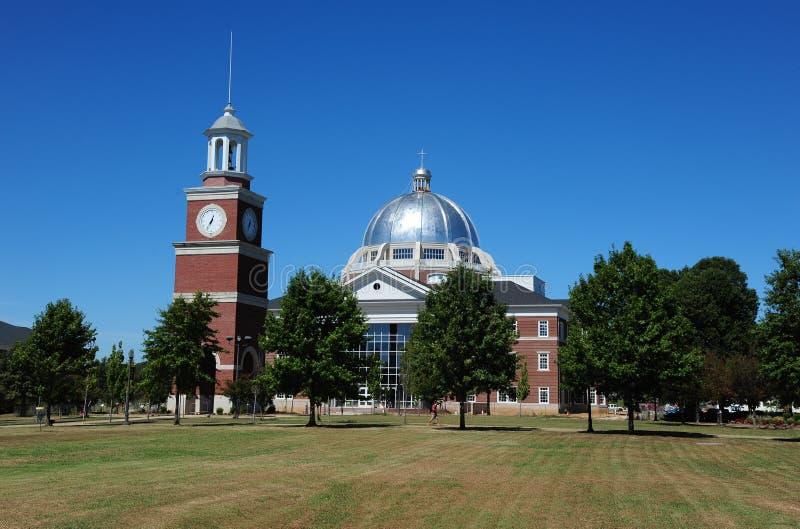 在联合大学的学生学术中心在杰克逊,田纳西 库存图片