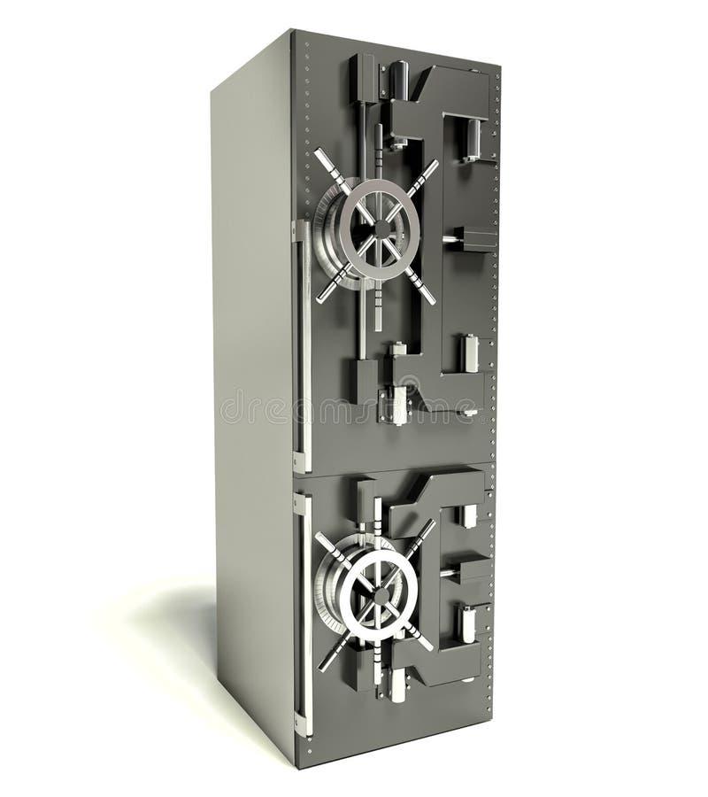 在背景空白弓概念节食的显示评定编号附近自己的缩放比例磁带文本附加的空白视窗包裹了您 以保险柜的形式冰箱 向量例证