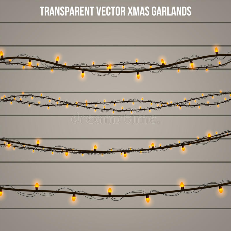 在背景隔绝的抽象创造性的圣诞节诗歌选光 模板 导航例证Xmas假日装饰的clipart艺术 库存照片