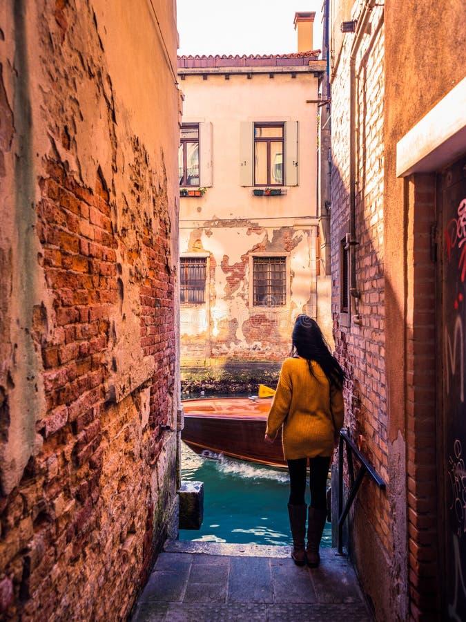在胡同威尼斯1 图库摄影