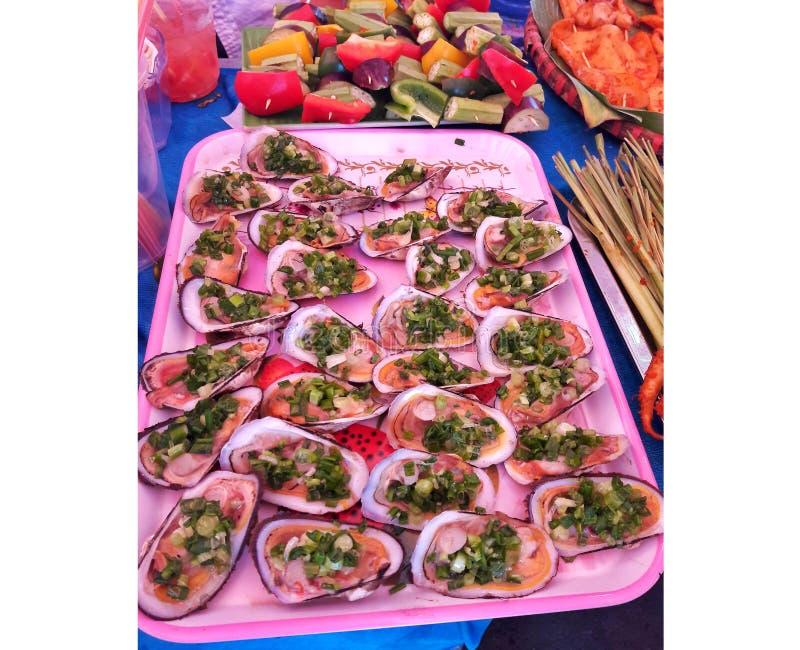 在胡志明的街道食物 免版税库存图片