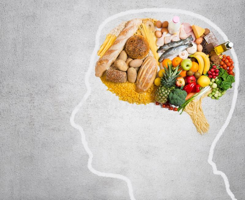 健脑食品 图库摄影