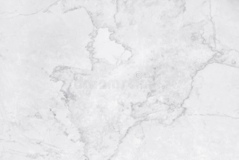 在自然样式的白色大理石纹理与背景和设计书刊上的图片的高分辨率 瓦片石地板 向量例证