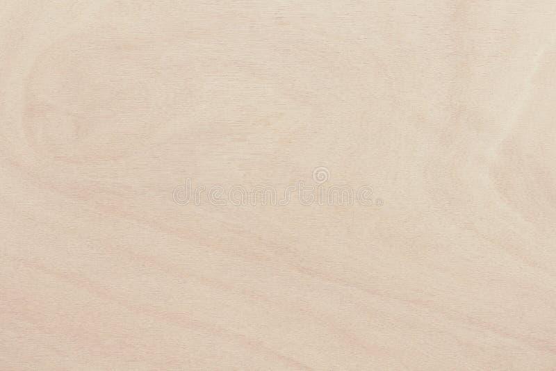 在自然样式的胶合板表面与高分辨率 木成颗粒状的纹理背景 免版税库存图片