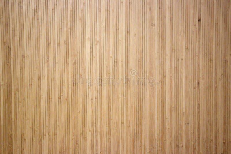 在自然稀薄的竹子下的墙纸背景 免版税库存照片
