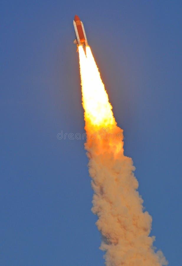 在航天飞机天空空间斑纹间 免版税库存照片