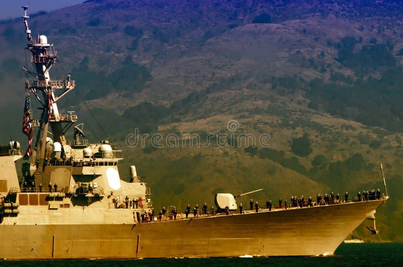 在舰队星期庆祝的示范在旧金山 免版税库存照片