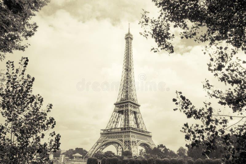 在艾菲尔铁塔的看法 免版税图库摄影