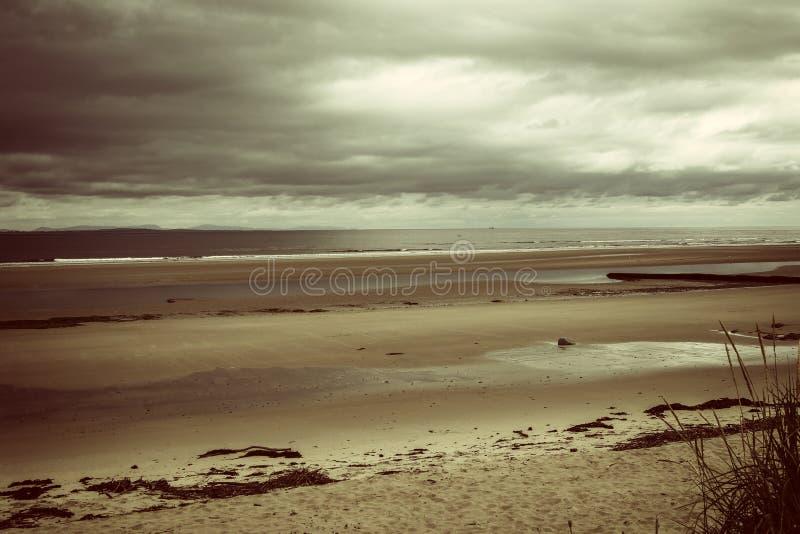在苏格兰海岸 免版税库存照片