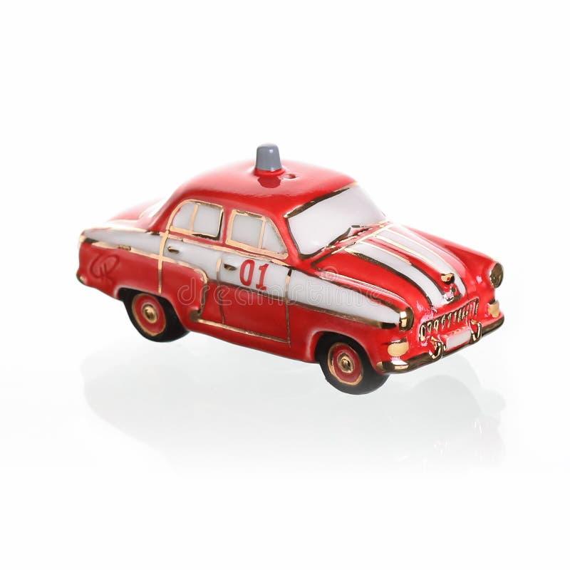 在苏联制造的葡萄酒俄国汽车比例模型 库存照片