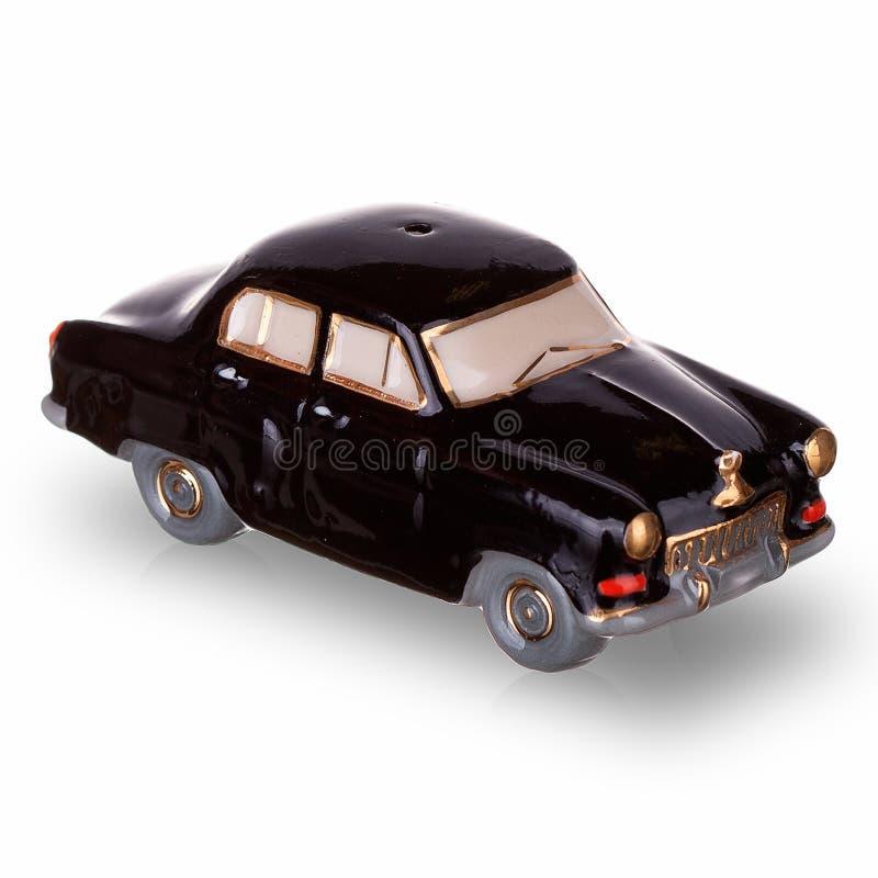 在苏联制造的葡萄酒俄国汽车比例模型 免版税图库摄影